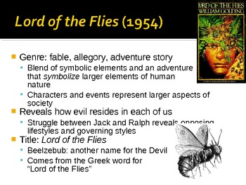 """Introduction to """"Lord of the Flies"""""""