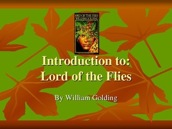 Lord of the Flies Introduction Presentation