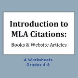 Introduction to MLA Citations - Book and Website Articles