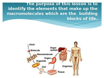 Introduction to Macromolecules