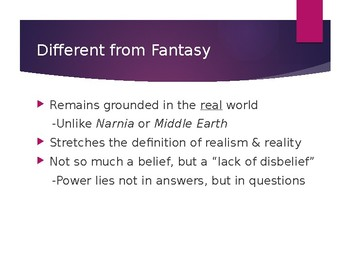 Introduction to Magical Realism
