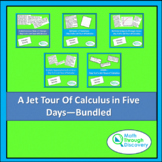 Jet Tour of Calculus - Five Days of Lessons - Bundled