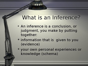 Introduction to Making Inferences