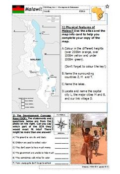 Introduction to Malawi: Map & DCR