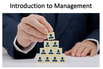Introduction to Management (Managers and You in the Workplace)