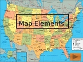 Introduction to Map Scales and Longitude and Latitude