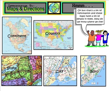 SMARTboard: Introduction to Maps & Directions