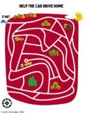 Introduction to Maps - Fun Car Maze