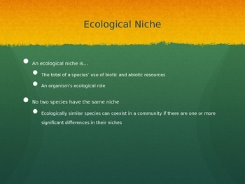 Introduction to Marine Ecosystems Interactions