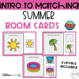 Introduction to Matching: Summer BOOM Cards- DISTANCE LEARNING