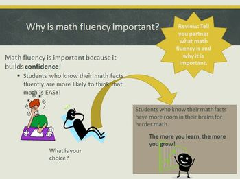 Introduction to Math Fact Fluency Routine