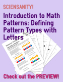 Introduction to Math Patterns: Using Letters to Identify Patterns