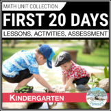 Introduction to Math Unit - Kindergarten August or September Skills