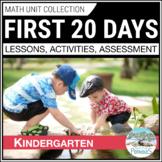 First 20 Days of Math Unit - Kindergarten Introducing Critical Math Skills