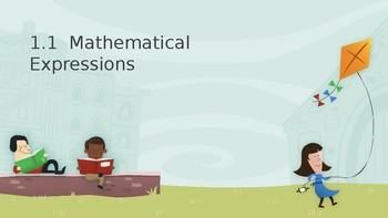 Introduction to Mathematical Expressions