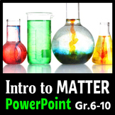 Introduction to Matter - PowerPoint {Editable}