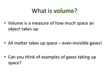 Introduction to Matter Slideshow