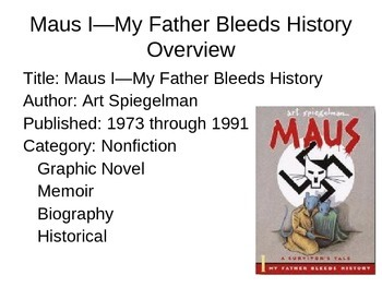 MAUS Introduction Powerpoint (download guided notes separately)