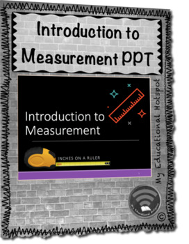 Introduction to Measurement Inches and Centimeters Instructional PPT