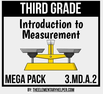 Introduction to Measurement Mega Pack: Third Grade