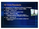 Introduction to Measurement for High School Science course (PPT)