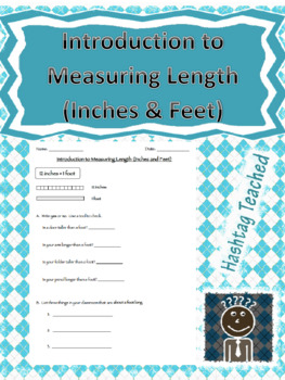 Introduction to Measuring Length(Inches/Feet) Interactive Guided Notes/Worksheet