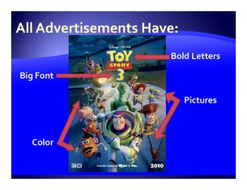 Introduction to Media Literacy ~ Text Features - Power Point Presentation