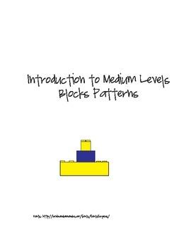 Introduction to Medium level Pattern Blocks Level 1 -Special Needs/ABA
