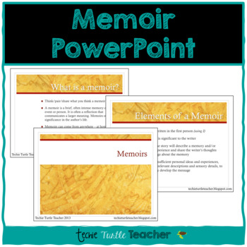 Introduction to Memoirs PowerPoint