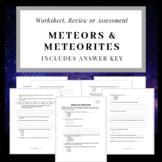 Introduction to Meteors & Meteorites