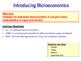 Introduction to Microeconomics - Economics - PPT & Tasks - How the Market Works