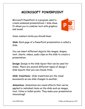 Introduction to Microsoft PowerPoint