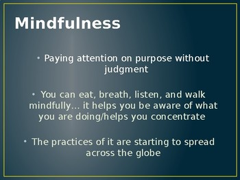 Introduction to Mindfulness PPT