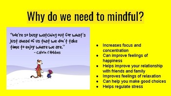 Introduction to Mindfulness and Growth Mindset