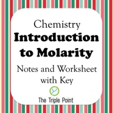 Chemistry: Introduction to Molarity (Notes and Problems)