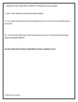 Introduction to Monetary Policy w/ Answer Key
