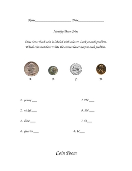 Introduction to Money COINS