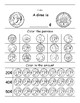 Introduction to Money Worksheets (Penny, Nickel, Dime, Quarter)