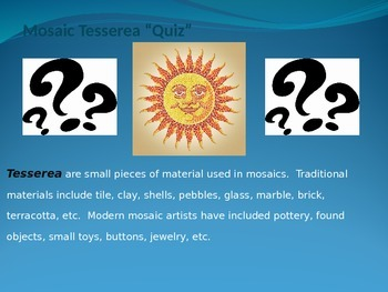Introduction to Mosaics Power Point