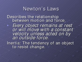 Introduction to Motion and Newton's Laws