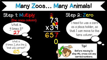 Introduction to Multi-Digit Multiplication PowerPoint