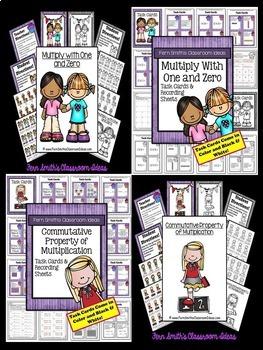 3rd Grade Go Math Chapter 3 Understanding Multiplication Center Games Task Cards
