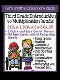 3rd Grade Go Math Chapter 3 Understanding Multiplication Center Games Task Cards