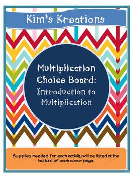 Intro to Multiplication Bundle (arrays, equal groups, repeated addition)