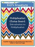 Intro to Multiplication Bundle (arrays, equal groups, repe