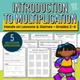 Introduction to Multiplication: Hands On Lessons & Games