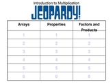 Introduction to Multiplication Jeopardy