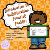 Distance Learning Introduction to Multiplication Packet
