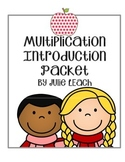 Introduction to Multiplication Packet - Math in Focus - Si