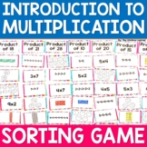 Introduction to Multiplication Strategies Sorting Game - Multiplication Practice